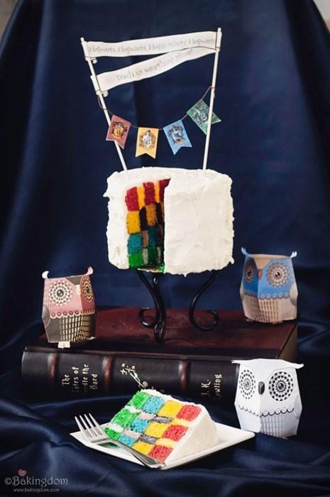 Hogwarts Cake WIN