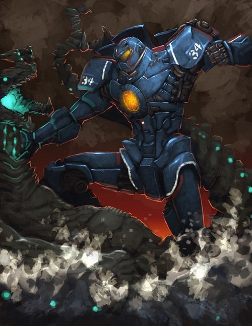 movies,Fan Art,pacific rim