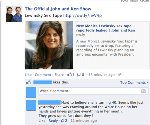 monica lewinsky bill clinton failbook - 7707878400