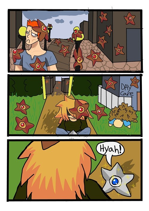 staryu shinies comics day care
