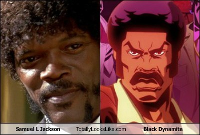 black dynamite Samuel L Jackson totally looks like funny