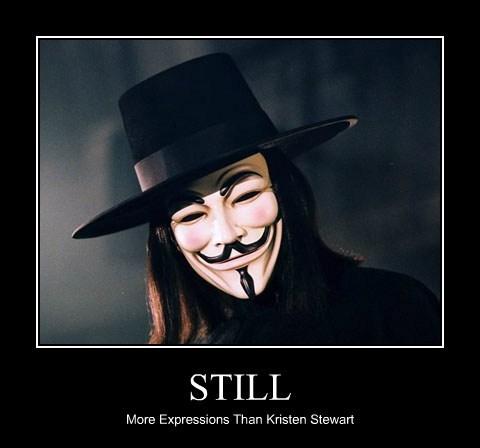 STILL More Expressions Than Kristen Stewart