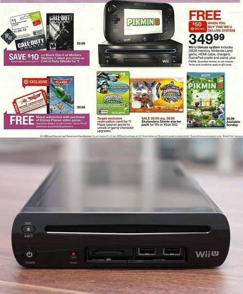 FAIL Video Game Coverage wii U Target
