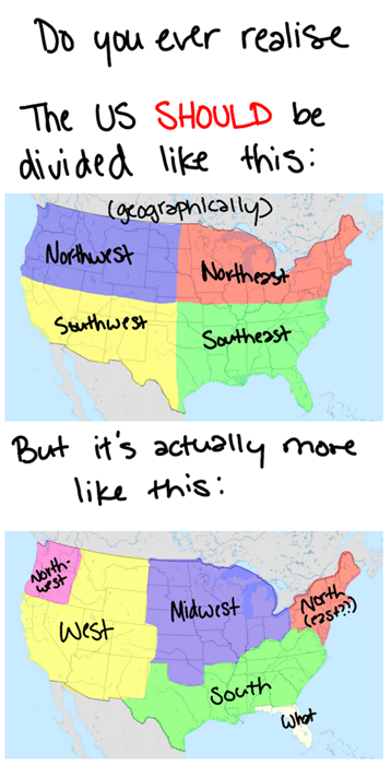 us geography quadrants