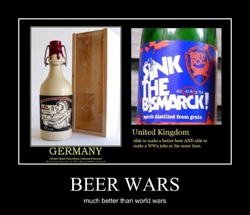 BEER WARS much better than world wars
