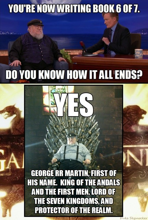 Game of Thrones,George RR Martin