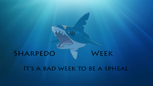 Pokémon sharpedo shark week - 7709896192