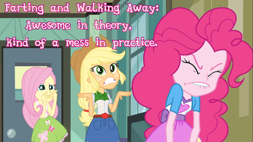 equestria girls,farts,pinkie pie