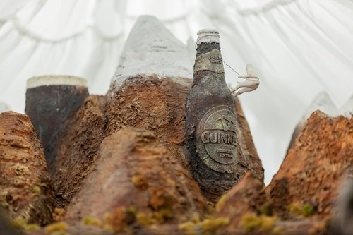 beer art sculpture guinness funny - 7710050816