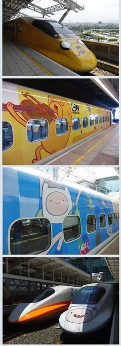 IRL cartoons trains adventure time - 7710053376