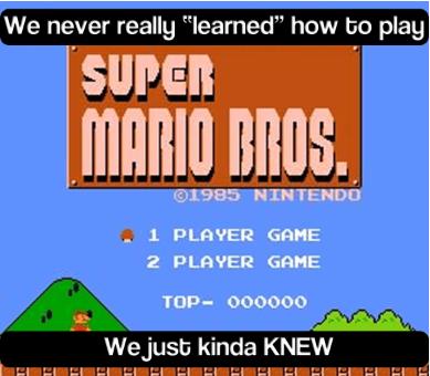 nostalgia,gamers,mario