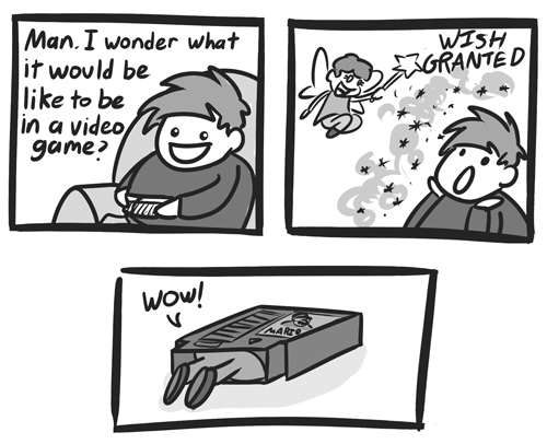 wishes sad but true Videogames funny comics - 7710165504