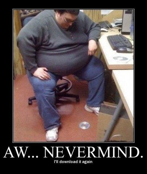 Sad fat CD funny