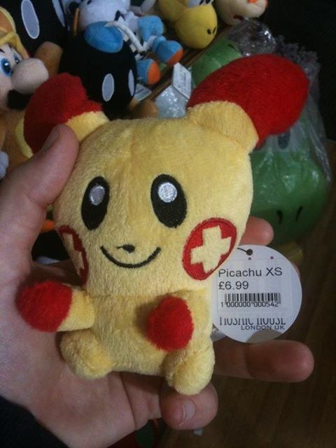 plusle,IRL,pikachu,seems legit