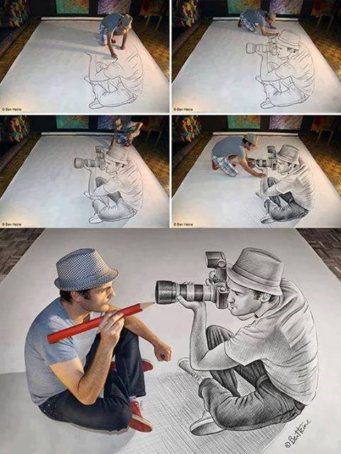 art perspective funny illusion win - 7710326528