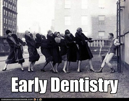 technology old timey science dentistry funny
