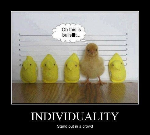 INDIVIDUALITY Stand out in a crowd