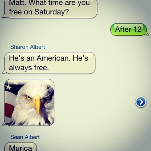 murica text funny g rated AutocoWrecks - 7712455936