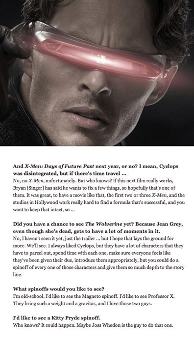 days of future past movies x men cyclops - 7712843264