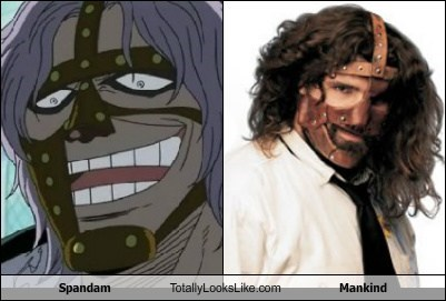 mankind,totally looks like,spandam,funny