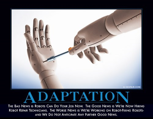 humans adaptation robots funny - 7713229824
