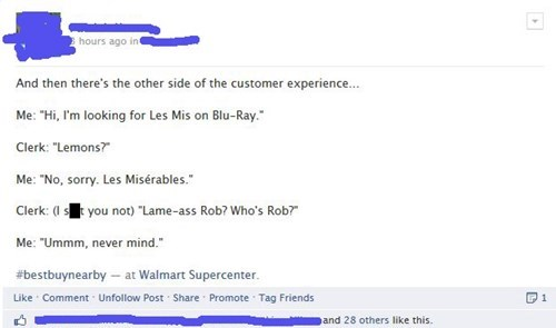 customer service failbook funny - 7713673984