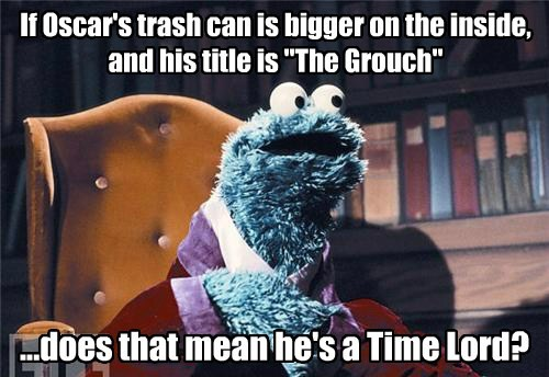 oscar the grouch doctor who Sesame Street - 7713731584