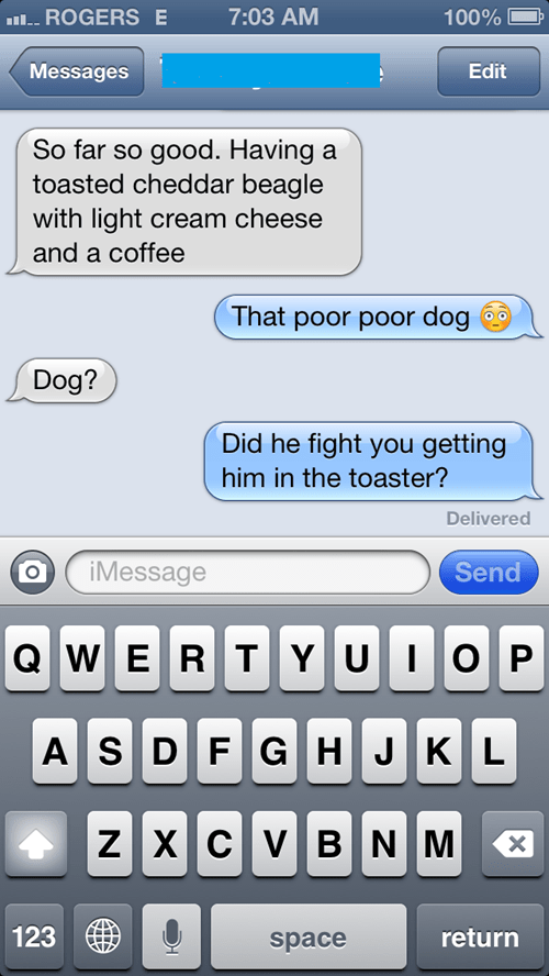 dogs autocorrect text funny g rated AutocoWrecks - 7714602240