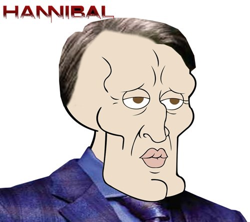 crossover hannibal SpongeBob SquarePants sexy squidward - 7714606592