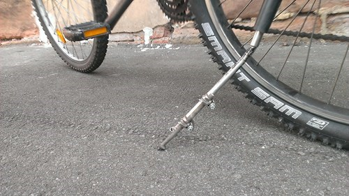 repair bicycles bikes kickstand there I fixed it - 7715099136