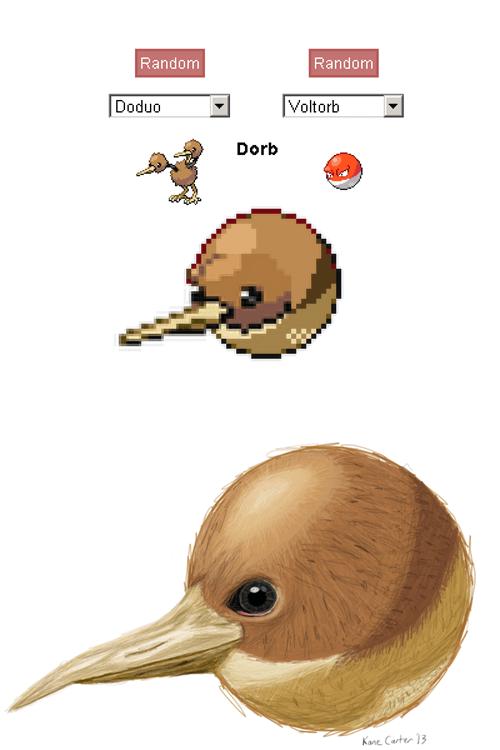 pokemon fusions dorb - 7715146240