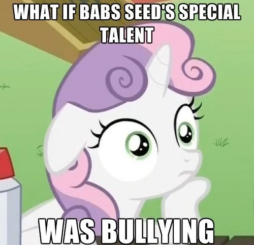 Sweetie Belle,babs seed,cutie mark crusaders