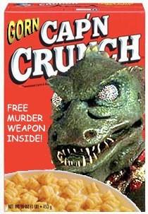 wtf Gorn Star Trek funny cereal - 7715783680