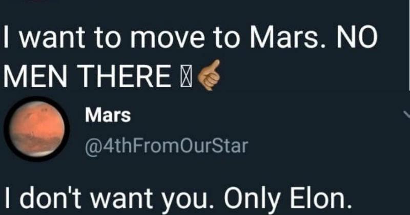 elon musk and mars twitter