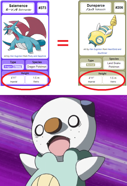 pokedex dunsparce dafuq salamence