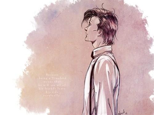 Fan Art 11th Doctor doctor who - 7716775424