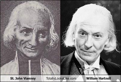 totally looks like,st-john-vianney,william hartnell