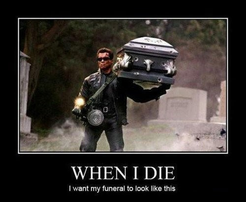 wtf terminator funeral funny - 7717352704