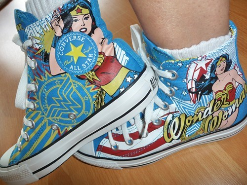 shoes,wonder woman,DC