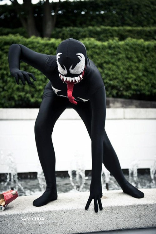 marvel cosplay Spider-Man Venom - 7718339072