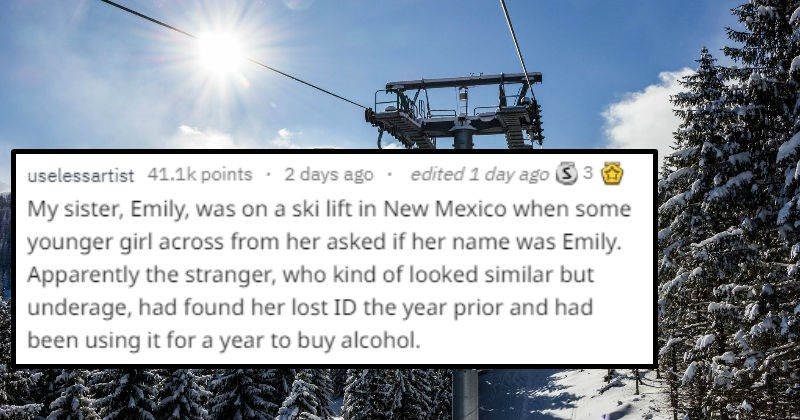 people share crazy coincidences