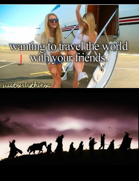 just girly things Lord of the Rings Jewelry funny - 7719500288