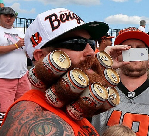 beer,beard,win,poorly dressed,g rated