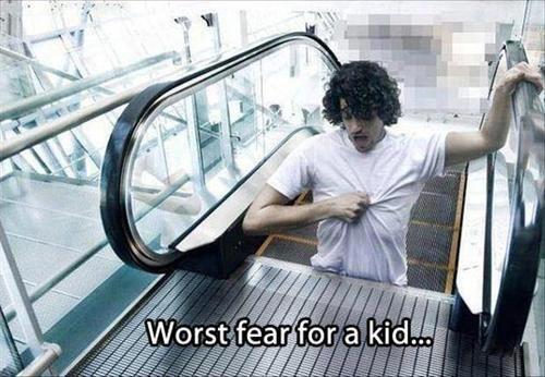 fear escalator problem - 7719779072