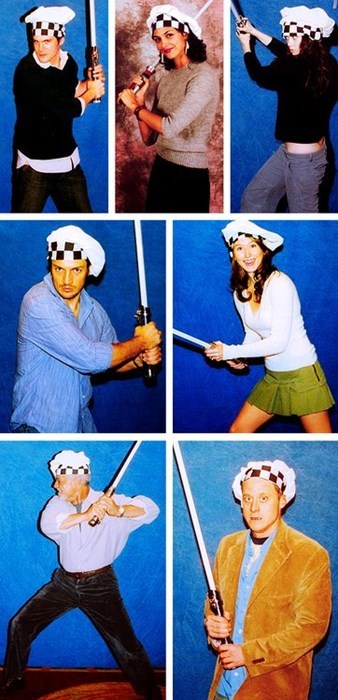 nathan fillion morena baccarin Jewel Staite chef Firefly summer glau ron glass alan tudyk Sean Maher Jedi - 7719798016
