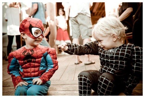 Spider-Man kids parenting costume funny Venom - 7719846912