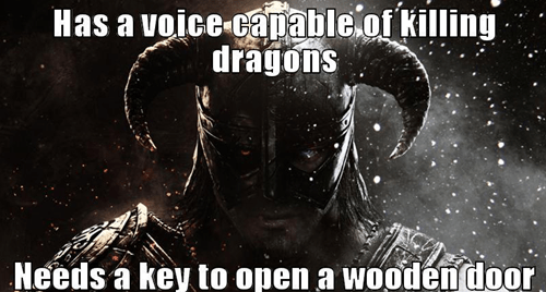video game logic Skyrim - 7719926528