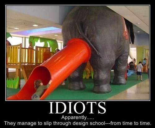 poop chute bad idea elephant design funny - 7719971328