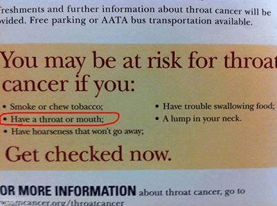 cancer throat cancer