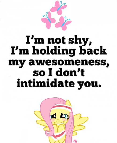 too cool 4 u awesome fluttershy - 7719999744